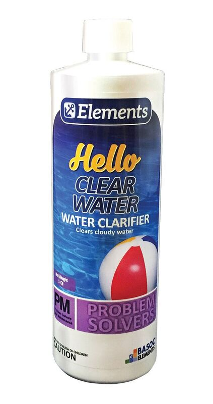 HELLO CLEAR WATER - 1QT X 12/CS - ESSENTIAL ELEMENTS