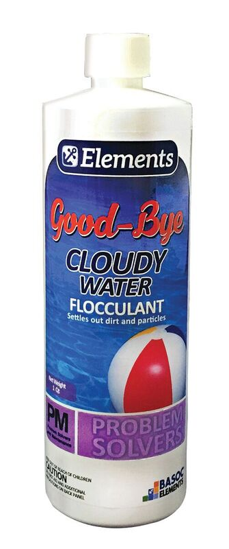 GOOD-BYE CLOUDY WATER - 1QT EACH - ESSENTIAL ELEMENTS